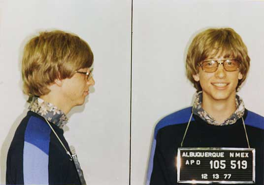 Бил Гейтс е арестуван 3 пъти за превишена скорост