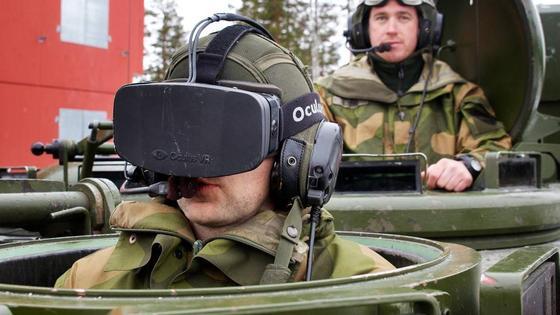 В Норвегия тестват очила за виртуална реалност за да управляват танкове