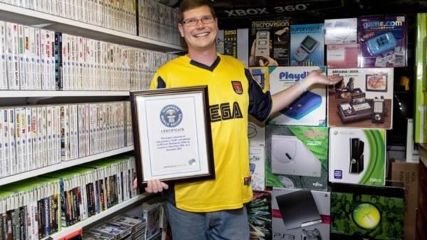 Продадоха най-голямата колекция игри