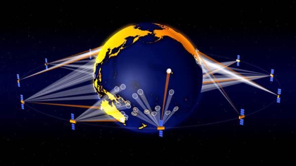 Google satellite network