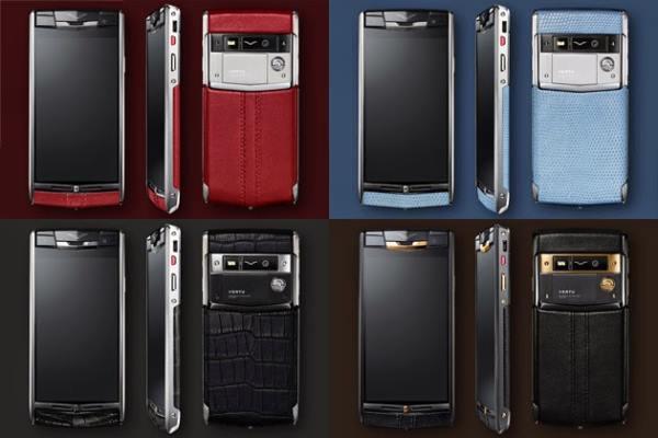 Скъпи Android смартфони от Vertu