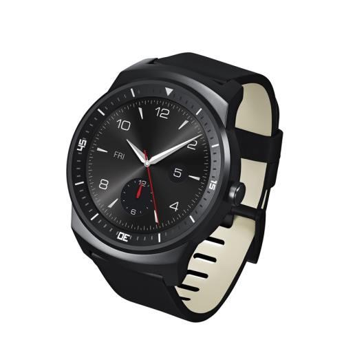 LG пуска кръгъл часовник