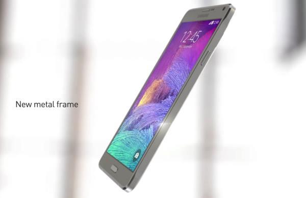 Дизайнът на Note 4
