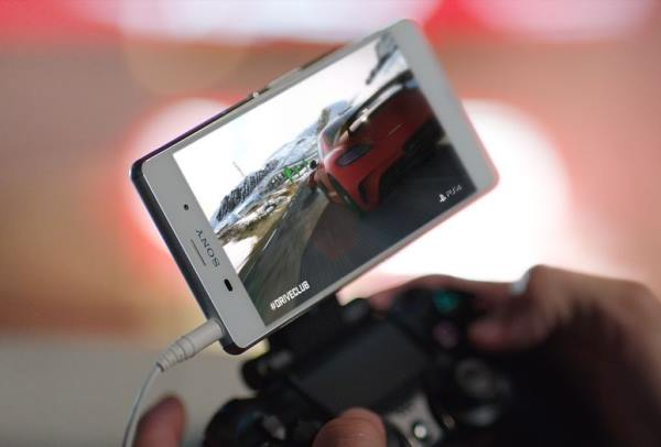 Sony Z3 може да се свърже с PS4