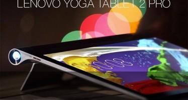Lenovo показа таблет с проектор