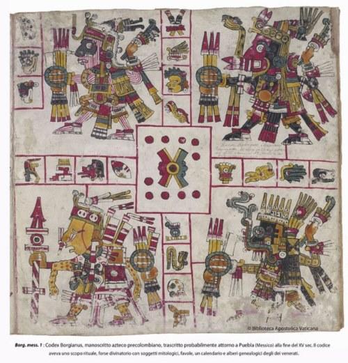 Ацтекски ръкопис от 15-ти век
