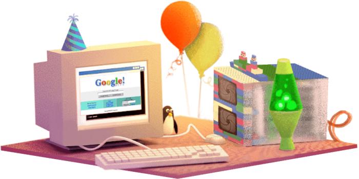 Гугъл празнува 17-ти рожден ден