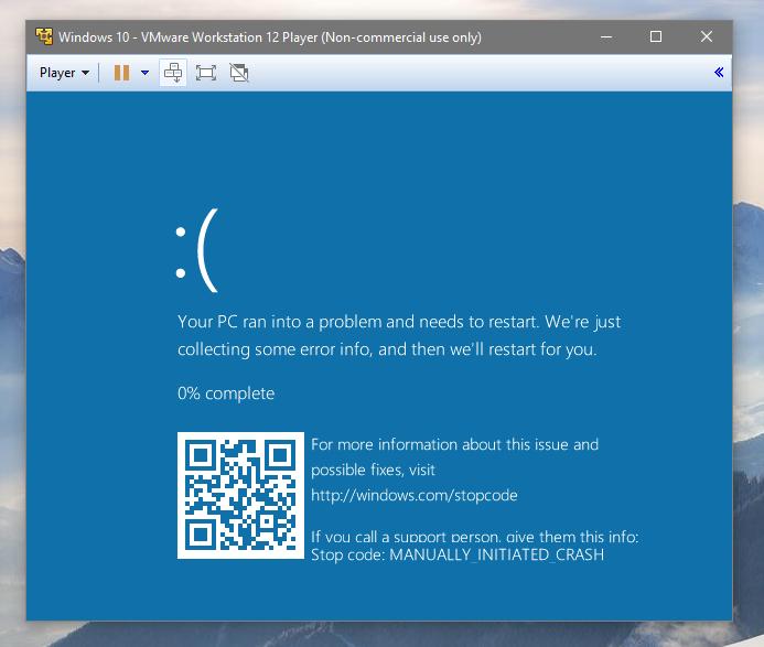 Microsoft добавят QR код към сините екрани на смъртта