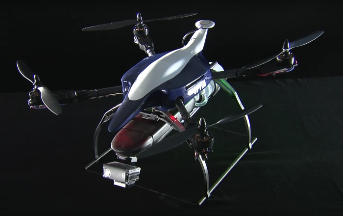 Япоснки дрон ще реши един от големите проблеми на земеделието