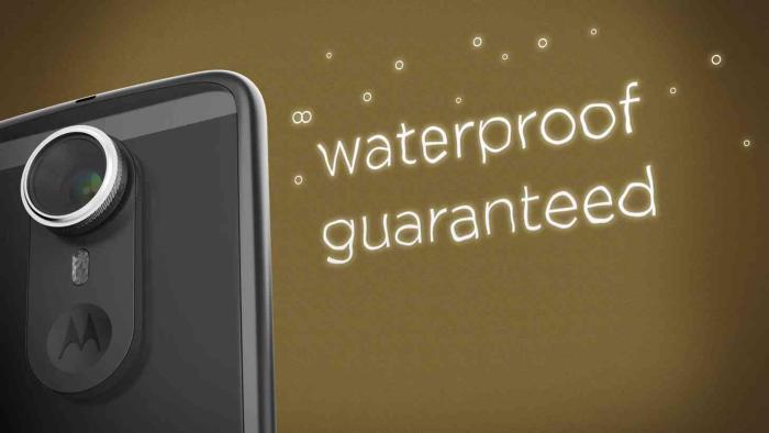 MotoMod за защита от вода