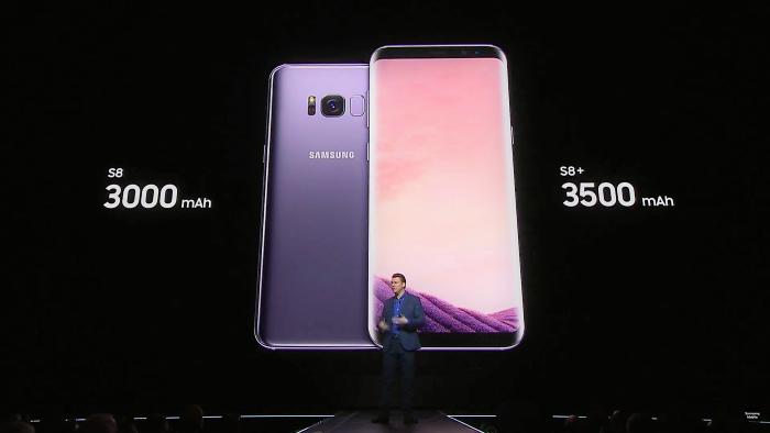 Батерии на S8 и S8+