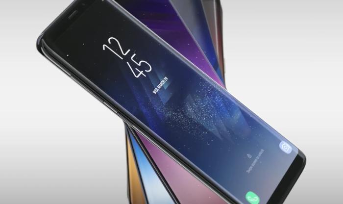 Дизайн на Galaxy S8