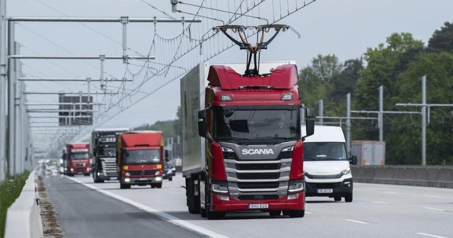 Първата електрическа магистрала в Германия