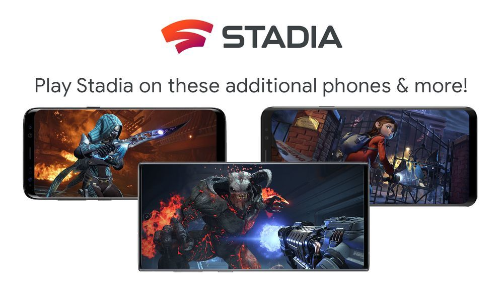 Stadia разшири каталога на поддържаните смартфони